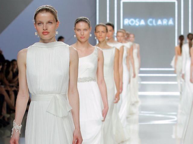 Rosa Clará abre la BBFW con sus vestidos de novia