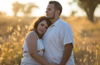 El amor de Moisés y Vianney, una historia que comienza en otra boda