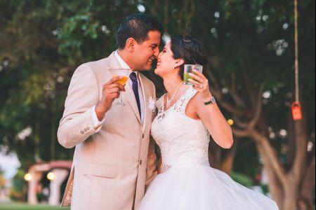 Emociones a flor de piel en la boda de Josué y Gaby