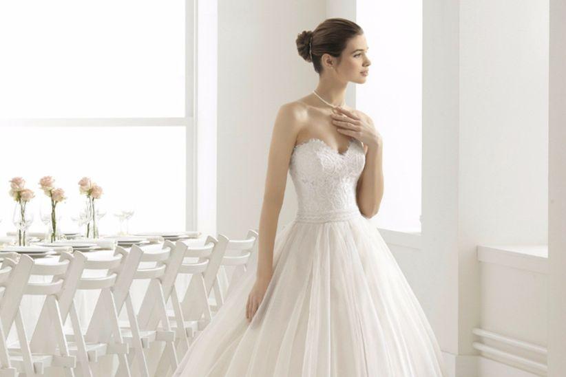 vestidos de novia aire barcelona 2018 para princesas de tierra y mar