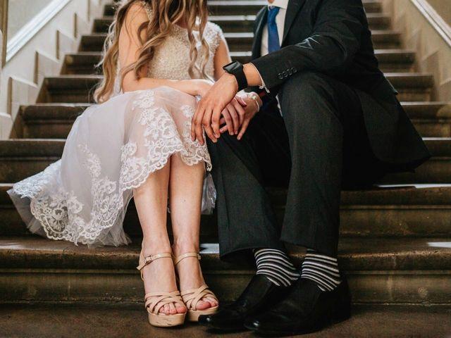 25 vestidos de novia de largo midi para caer en la tentación