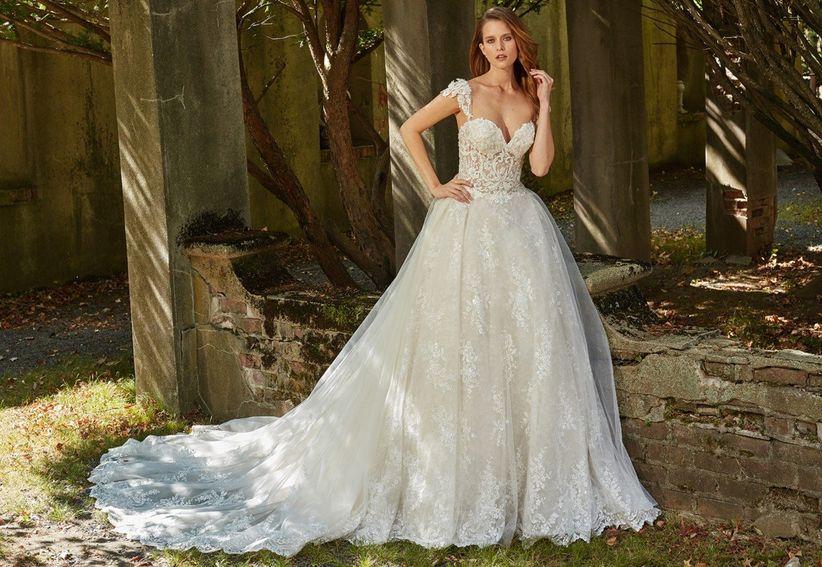 un look lujoso y sensual: vestidos de novia eve of milady 2018