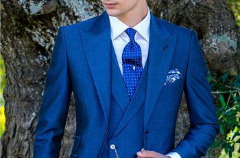 30 trajes de novio de colores 2018: elegancia vanguardista