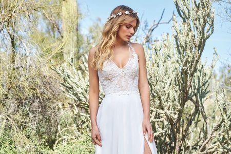 60 vestidos ideales para novias bajitas... con grandes sueños