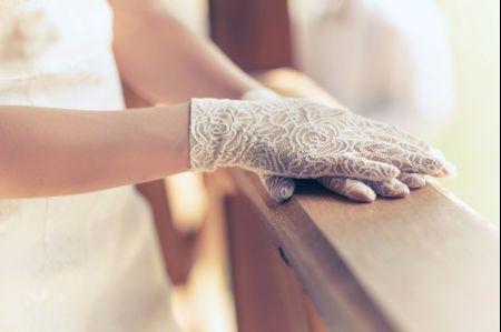 Guantes: complementos para la novia