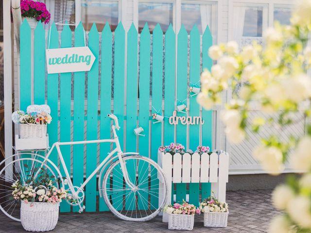 Decoración con bicis y carretas, esencia vintage para su boda