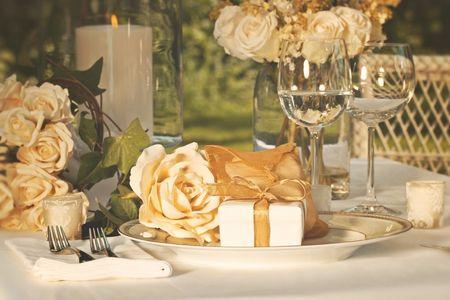 Nuevas tendencias: tu boda en dorado