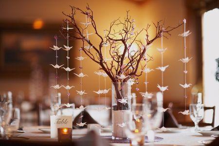 Origami para decorar tu boda