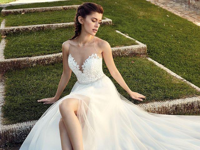 75 vestidos de novia con abertura en la falda