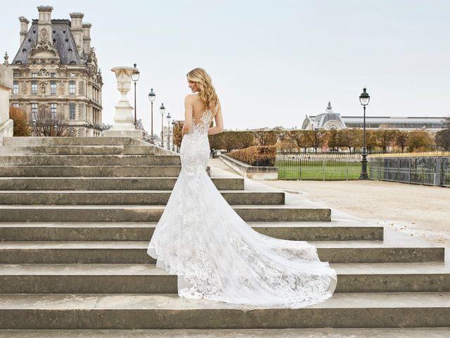 Vestidos de novia Aire Barcelona 2019: románticos, por definición