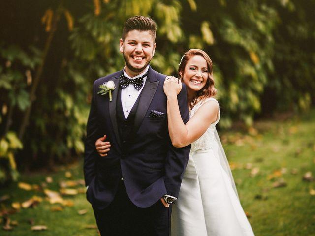 Recorrería el mundo entero por estar contigo: La boda de Ivette y Omar
