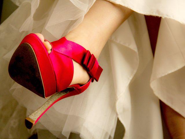 40 zapatos de novia en rojo.... ¡apasionantes!