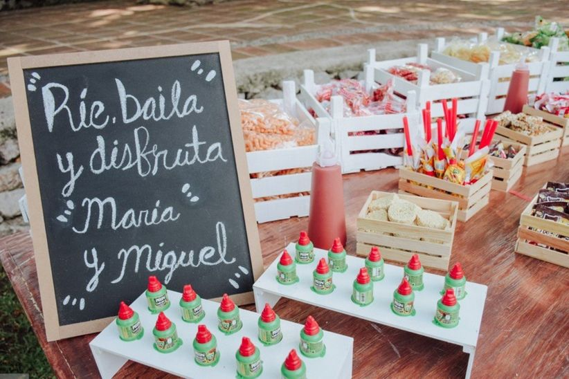 b463de5c6 Mesa de dulces mexicanos para boda: 45 ideas para ver y comer ...