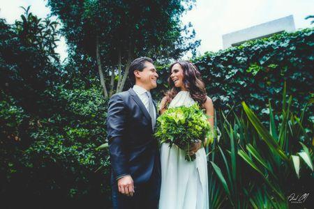 Para el amor las oportunidades son infinitas: la boda de Arnoldo y Denisse