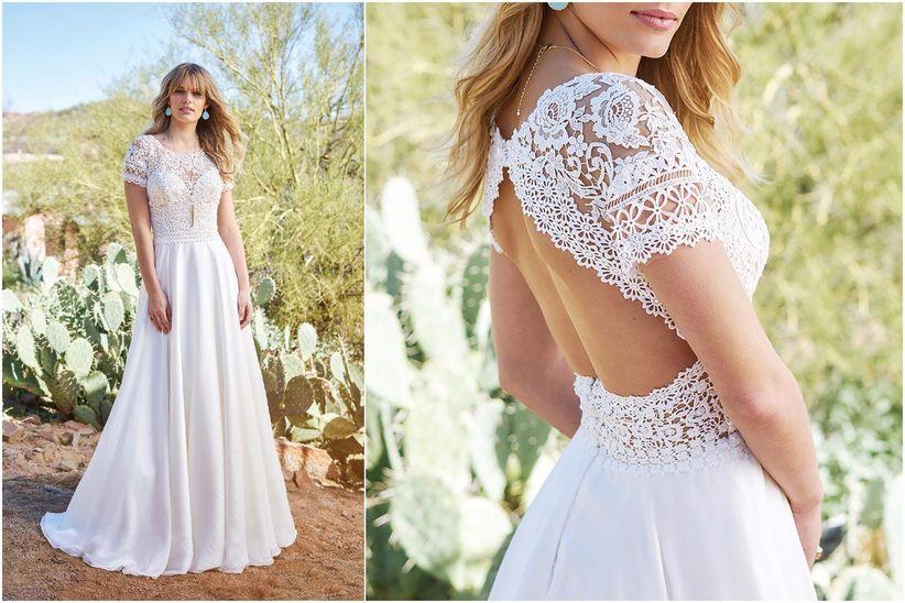 7cd381cb63 15 vestidos escote ilusión que te van a enamorar - bodas.com.mx