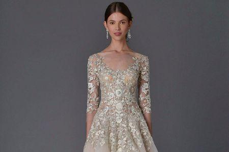 Vestidos de novia que destilan flores y belleza: la nueva colección 2017 de Marchesa
