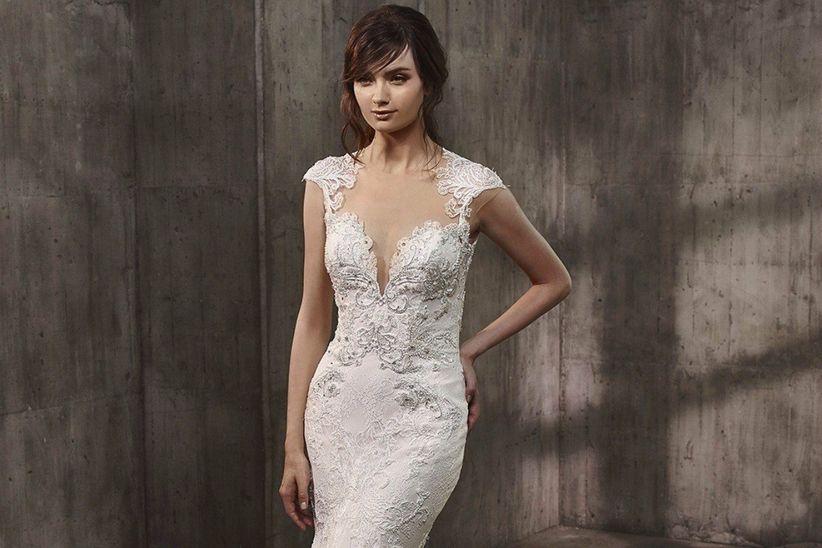 la nueva colección 2017 de vestidos de novia de badgley mischka