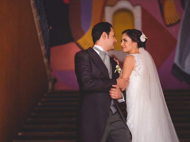 """""""Encontré el pie izquierdo con el que podía bailar"""": la boda de Miguel y Alejandra"""