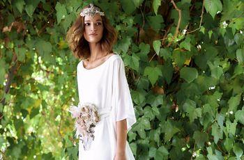 58 vestidos de novia sencillos: un lienzo en blanco para tu boda