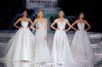 Vestidos de novia Pronovias 2018: la fuente de las tendencias