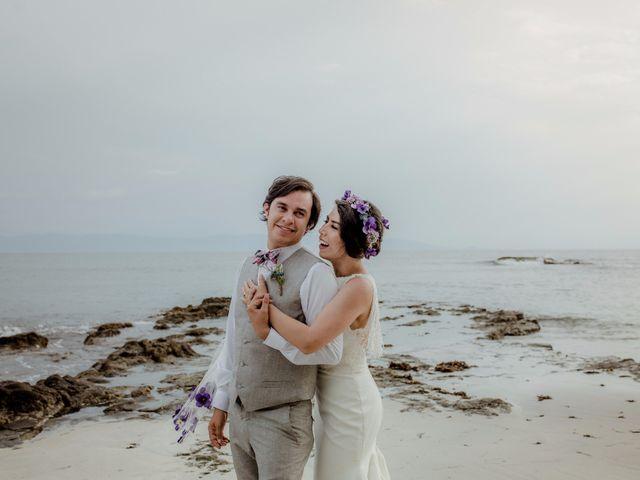 """El """"sí"""" de Jerson y Angie: una boda destino ante las olas nayaritas"""