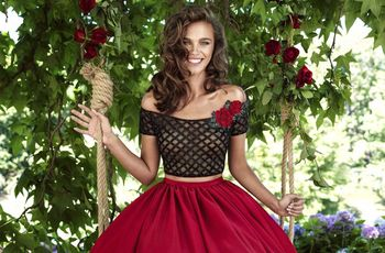 44 vestidos rojos de noche que te hipnotizarán