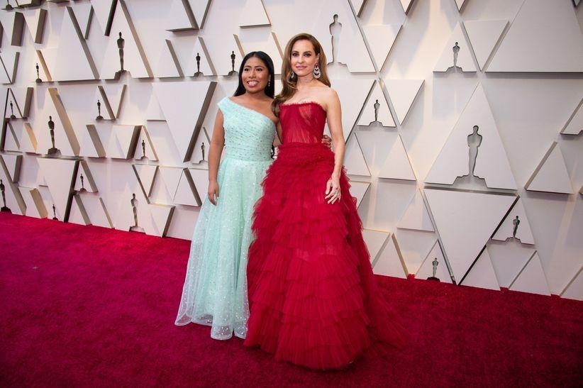 8b73ddff940 La alfombra roja (muy rosa) de los Oscar 2019  los looks más ...