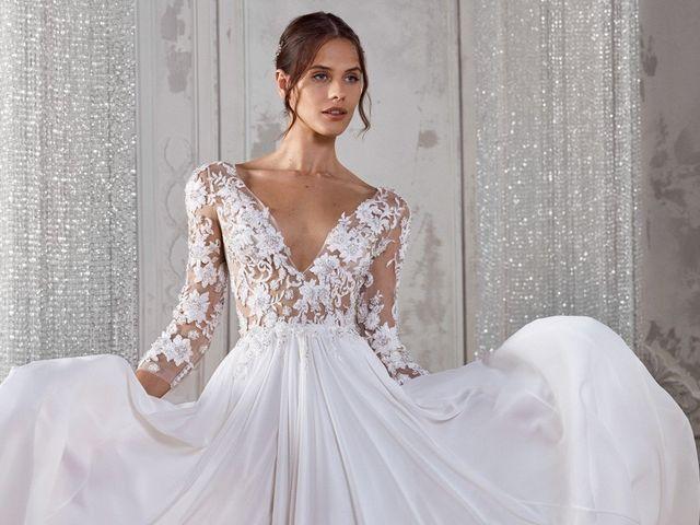 Vestidos de novia St. Patrick 2019, pequeños grandes detalles