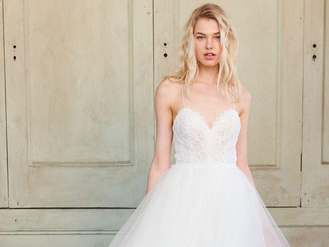 Vestidos de novia Christos 2018: sencillos, elegantes y seductores