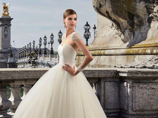 Vestidos de novia Pronuptia 2018: cortes clásicos, detalles modernos
