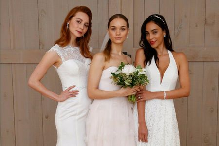 Vestidos de novia David's Bridal 2018: uno para cada tipo de mujer