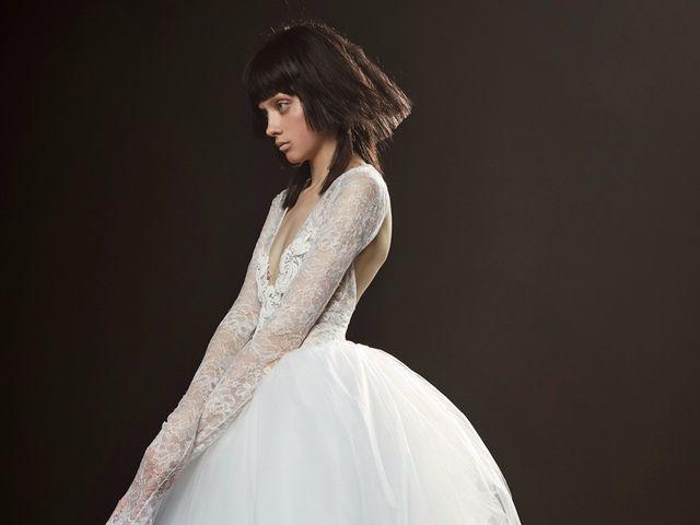 Vestidos de novia Vera Wang 2018: romanticismo grunge