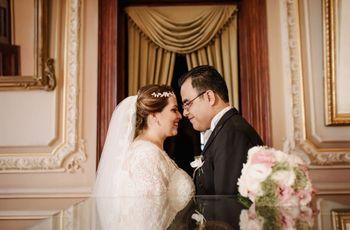 Así culmina un amor... de cine: la boda de Gerardo y Angie