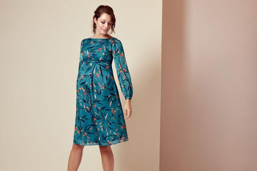158bf9ade 25 vestidos de fiesta para embarazadas  estilismos que valen por dos ...