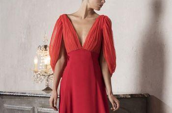 60 vestidos de noche con manga: ¿cuáles estilizan más?