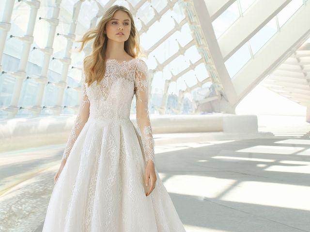 Vestidos de novia Rosa Clará 2019: tres colecciones para soñar