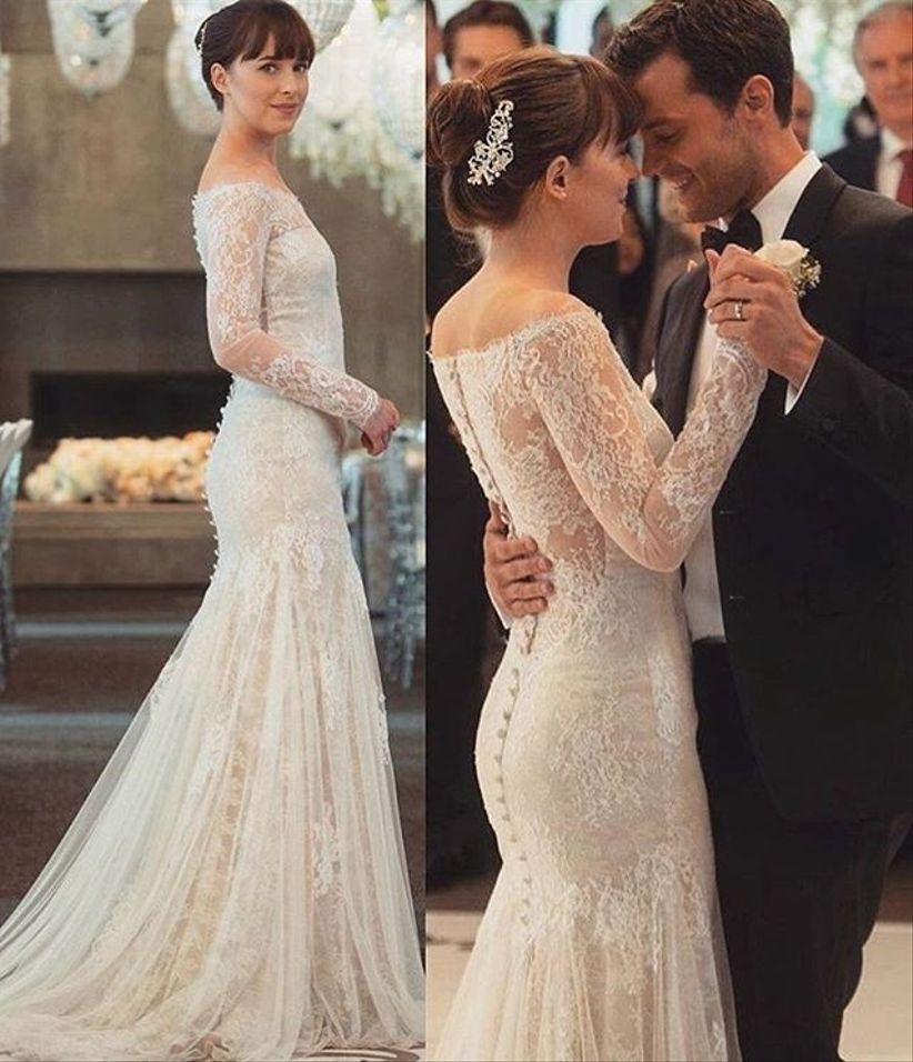 15 vestidos de novia 2018 similares al de anastasia steele - bodas
