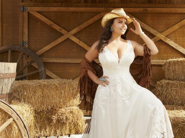 Look de novia estilo 'country': 45 vestidos y complementos campiranos