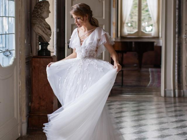 Vestidos de novia Daria Karlozi 2020, ¡romanticismo puro!