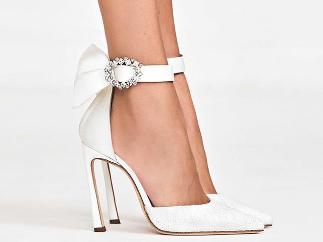 55 zapatos blancos para novia: elegancia, pulcritud y feminidad