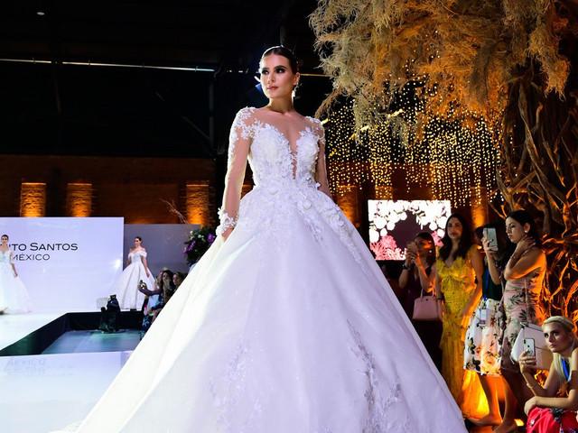 Desfilan las novias de Benito Santos ¡y enamoran a los expertos!