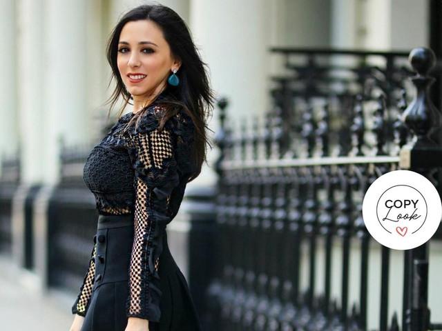 Luce el estilo de Hanna Jaff en tu look de invitada de boda
