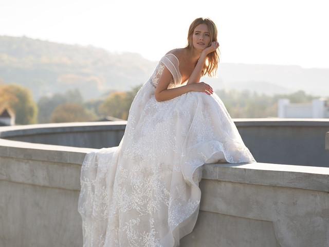 Vestidos de novia Pollardi 2019: diseños para prometidas elegantes y románticas