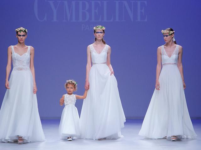 Vestidos de novia Cymbeline 2020: la elegancia francesa, en cada detalle