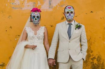 Boda estilo Día de Muertos: 7 ideas mortalmente originales