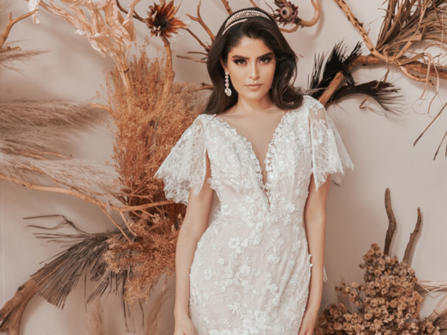 Vestidos de novia Benito santos 2021: derrocha sensualidad y romance