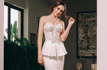 Vestidos de novia Benito Santos 2020, ¡una colección especial para boda civil!