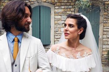 La encantadora boda religiosa de Carlota Casiraghi y Dimitri Rassam