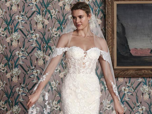 Vestidos de novia Justin Alexander Signature 2021: glamur y sensualidad