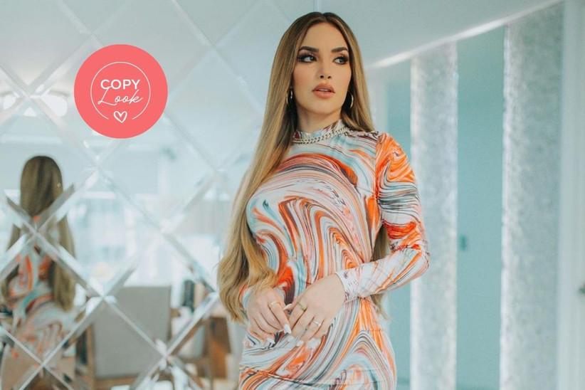 fotos de kimberly loaiza con vestidos